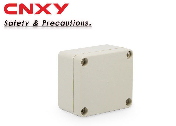 Screw locking IP65 grey lid plastic junction box 64*58*35mm electrical junction box