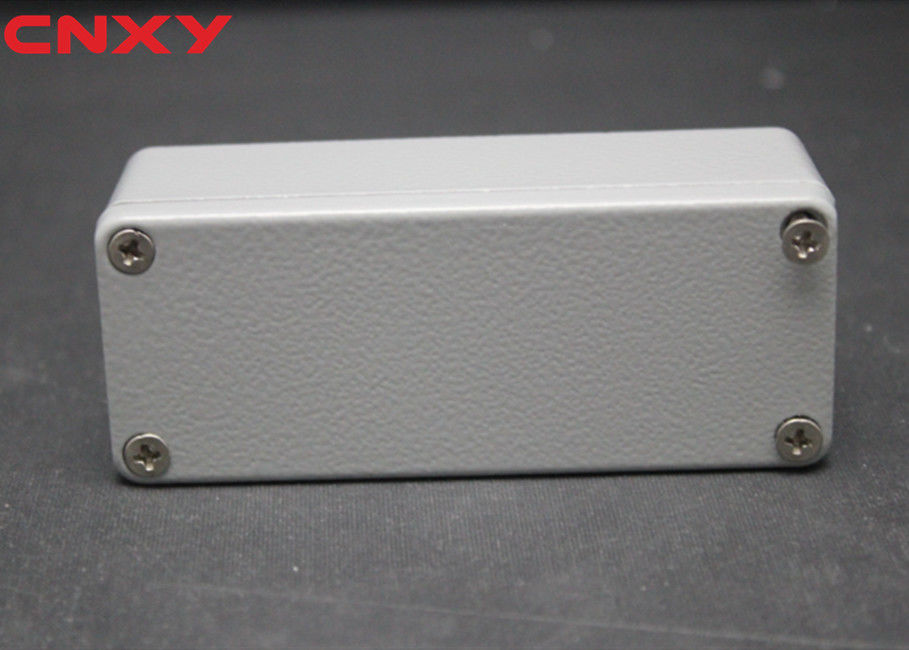 Custom IP65 waterproof aluminum enclosure box aluminum junction box cable connection box 90*36*31 mm