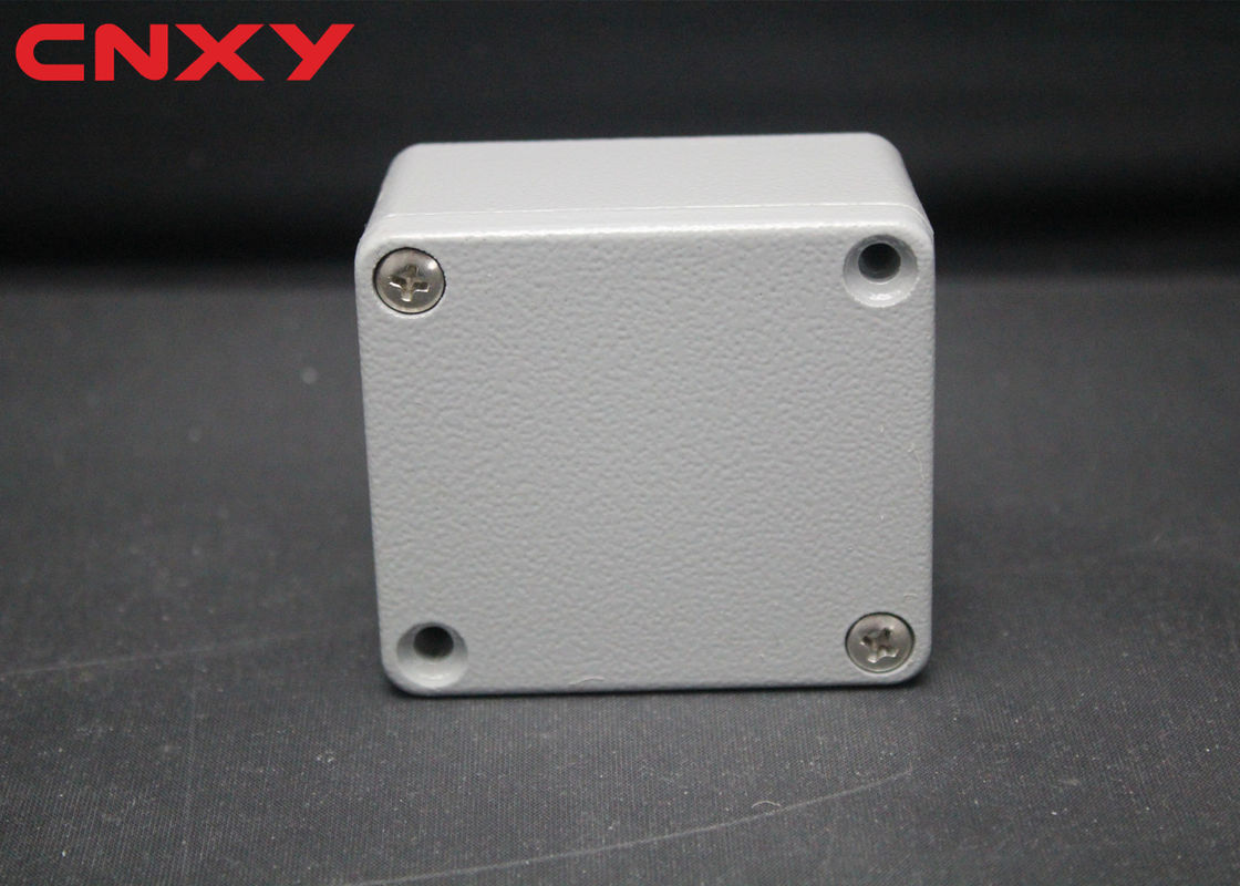 Metal waterproof IP65 Sealed DIY joint electrical junction box aluminum junction box cable connection box  64*58*38 mm