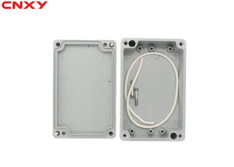 Water-resistant IP66 metal electrical project box aluminum junction box waterproof enclosure for electronics 125*80*60mm