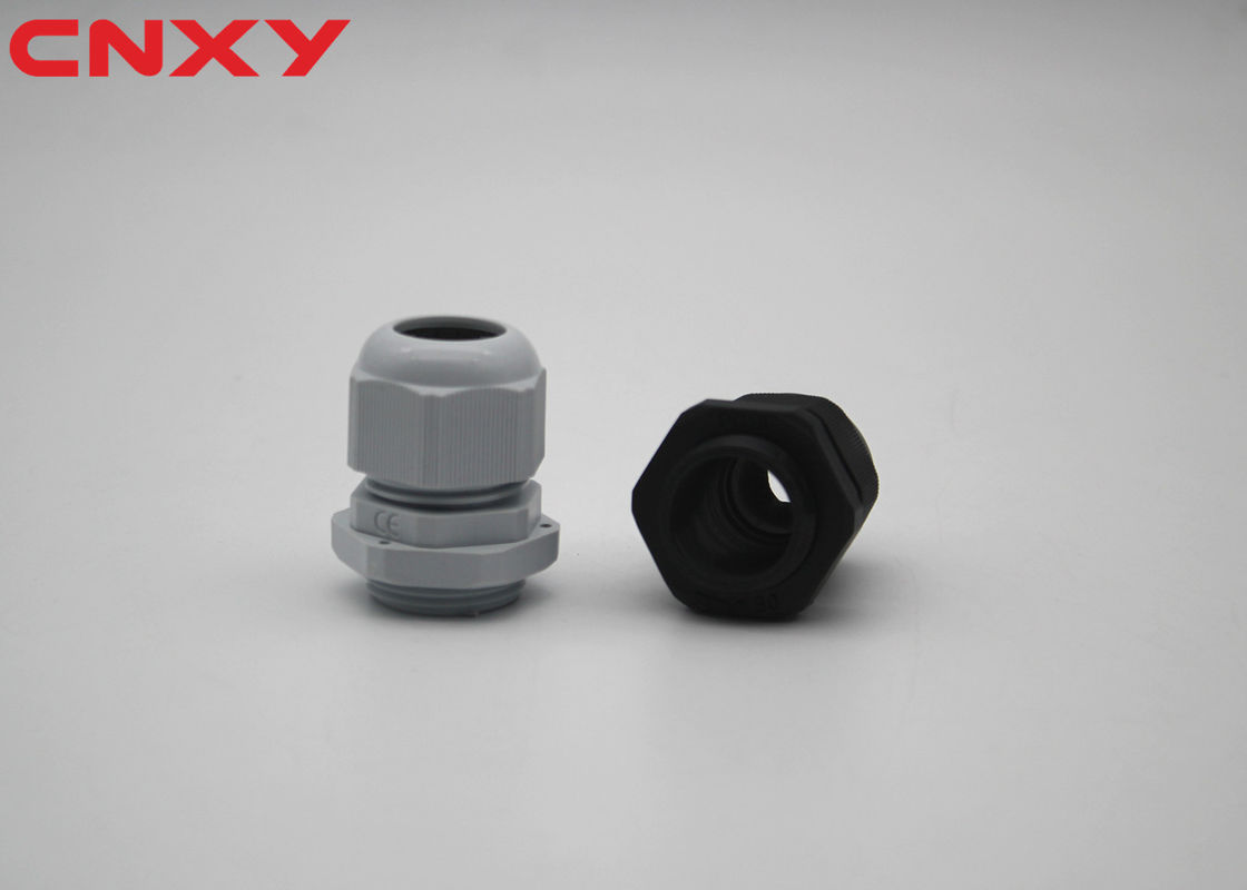 Durable Industrial Plastic Cable Glands -40 To 100 ℃ Static State Range
